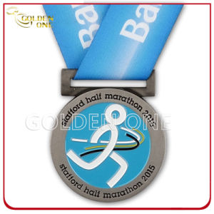 Custom Brass Stamped Running Medal for Charity pictures & photos