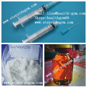 Hormone White Crystalline Powder Testosterone Sustanon 250 pictures & photos