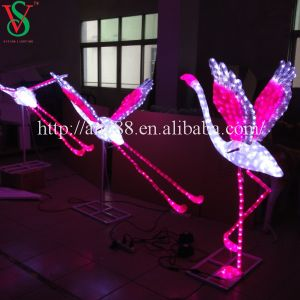 LED 3D Animal Flamingo Sculpture Light pictures & photos