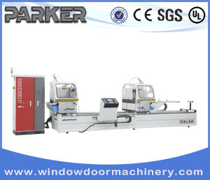 Aluminium Window Double Head Cutting Machine pictures & photos