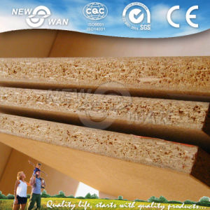 Cherry Melamine Laminated Particle Board pictures & photos