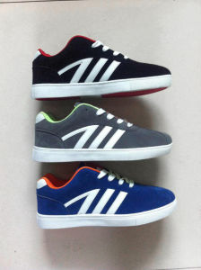 Newest Men Casual Shoes Skate Shoes Sneaker (ZJ150518) -19 pictures & photos
