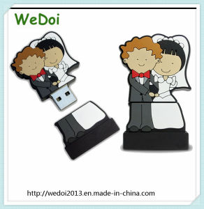 Weeding Gift PVC USB Flash Drive USB Stick (WY-PV37) pictures & photos