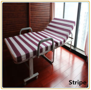 Large Sized Sofa Bed/Hospital Bed/Guest Bed (190*120cm Brown Color) pictures & photos