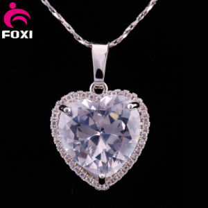 Shining Big Stone Heart Shape Pendants for Girls pictures & photos