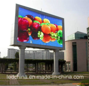 CE Approved Outdoor Full Color P16 LED Sign pictures & photos