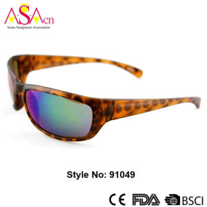 Sport Brand Designer Polarized Men Sunglasses for Fishing (91049)