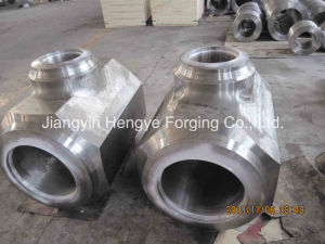 Hot Forged Tee Valve of Material A182 F91