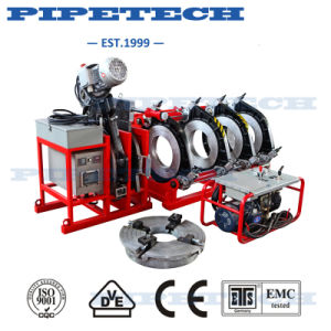 Plastic Pipe and Fitting 315mm Angle Fusion Machine pictures & photos