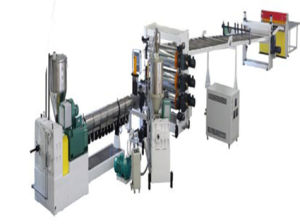 High Quality HIPS Plastic Sheet Extrusion Line pictures & photos