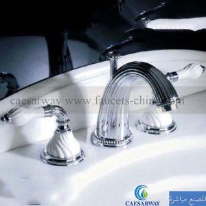 Chrome 3 Way Bathtub Faucet Mixer Tap