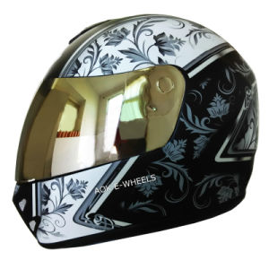 CE DOT Approved Fashion Design Motorcycle Helmet (MH-007) pictures & photos