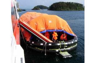 Emergency Throw- Overboard Inflatable Life Raft pictures & photos