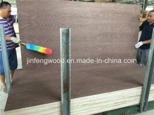 Natural Veneer Black Walnut Color Faced Blockboard pictures & photos
