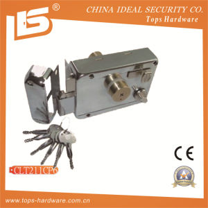 Security High Quality Door Rim Lock (CLT211CP6) pictures & photos