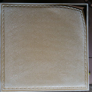 Luxury 3D PU Leather Wall Panel for Decoration (HS-MK018) pictures & photos