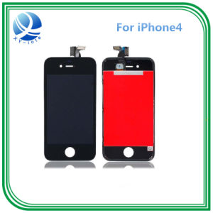 Mobile Phone LCD Digitizer Spare Parts for iPhone 4 LCD pictures & photos