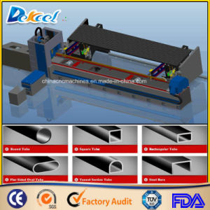 1200W Fiber Metal Tube Laser Cutting Machine 10mm Steel Pipe Laser Cutter Factory Sale pictures & photos