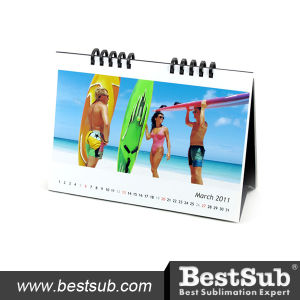 Promotional Mini-Color Inkjet Desktop Calendar (DTL02) pictures & photos