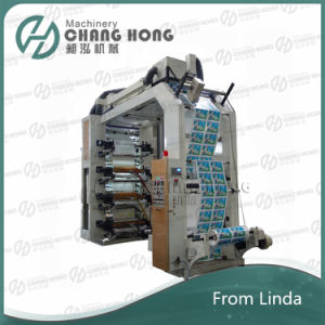 High Speed Eight Color Plastic Flexo Printing Machine (CE) pictures & photos