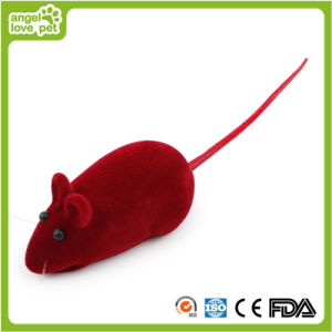 Flocked Whistle Mouse Cat Toy (HN-PT593) pictures & photos