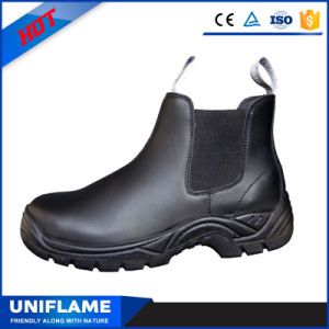 Comfortable Smooth Leather Upper Workmen Safety Boots pictures & photos