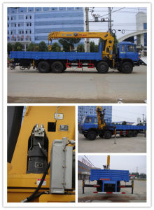 Dongfeng 8X4 Truck Mounted 16t Crane on Sale pictures & photos
