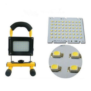 54 LEDs Solar Portable Flood Light Cordless Rechargeable LED Flood Spot Work Light Lamp for Outdoor Camping, Working, Fishing Waterproof, Security Light pictures & photos
