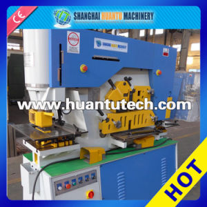 Q35y Hydraulic Iron Worker, Multi Functional Hydraulic Ironworker pictures & photos