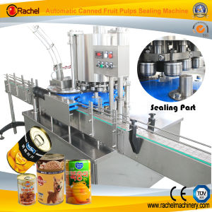 Automatic Canned Food Seamer Line pictures & photos