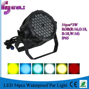 54PCS LED Waterproof PAR Light for Stage Lighting (HL-034) pictures & photos