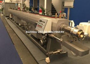 Plastic Machinery Hot Water PPR Pert Pipe Extrusion Production Line pictures & photos