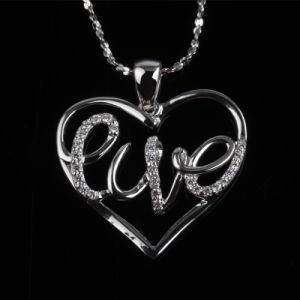 Competitive Price Fashion Heart Shape Love Pendant Jewelry pictures & photos