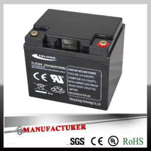 12V 38ah Storage Solar Power Battery for Solar System pictures & photos