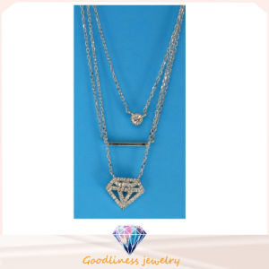 Hot Sale Woman′s Fashion Jewelry Sterling Silver Jewelry Special Design Pendant Necklace (N6777) pictures & photos