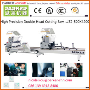 Aluminium Window Frame Making Machine, Double Mitre Cutting Saw for Aluminum pictures & photos