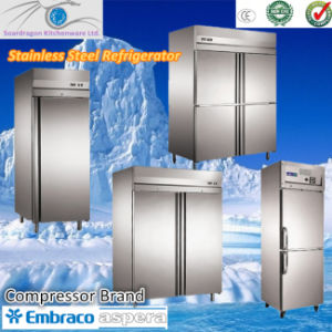 CE Stainless Steel Counter Refrigerator pictures & photos