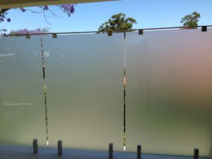 Frost Tempered Glass Railing pictures & photos