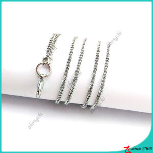 Silver Flat Floating Locket Chain Wholesale (FN16040964)