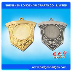 Souvenir Metal Medal Shield Gold/Silver Blank Medal pictures & photos
