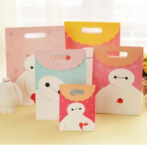 Eco-Friendly Customize Cute Paper Bag/Gift Bag for Kids