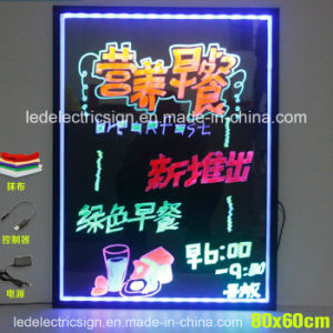 LED Hand Writing Boards for Shop Advertising Display with Menu Board and Fast Food Price List pictures & photos