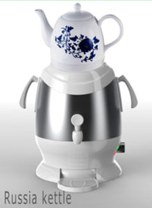 Stainless Steel Water Kettle Samovar Sb-Es01 pictures & photos