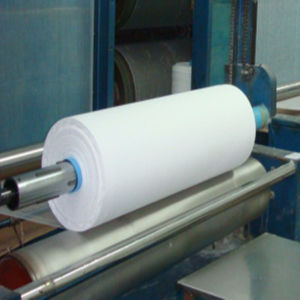 Cotton Gauze in Big Roll/Gaze Hydrophile Blanchie/Gauze Hydrophile Bleached