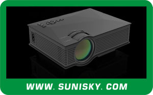 2016 WiFi Small LCD Projectors High Brightness LED Projector for Meeting, Training (SMP46) pictures & photos