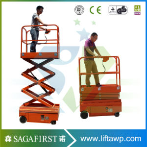 8m Self Propelled Battery Operated Aerial Work Man Lift Platforms pictures & photos