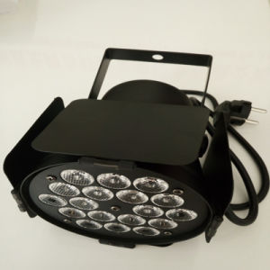 Mini PAR Can 18PCS 1W RGB LED PAR Light with Light Barrier pictures & photos