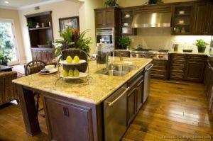 Dark Walnut Kitchen Cabinets (dw39) pictures & photos