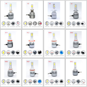 Car LED Light 50W H1 with Super Light Auot HID Xenon Kit and High Quality LED Headlight (H1 H3 H4 H7 H13) pictures & photos
