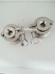 Sanitary Stainless Steel Air Blow Threaded Check Valve pictures & photos